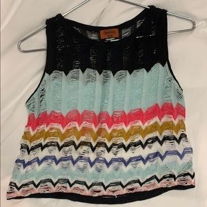Missoni Crop Top